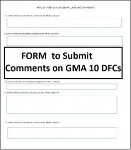 DFC Comment Form